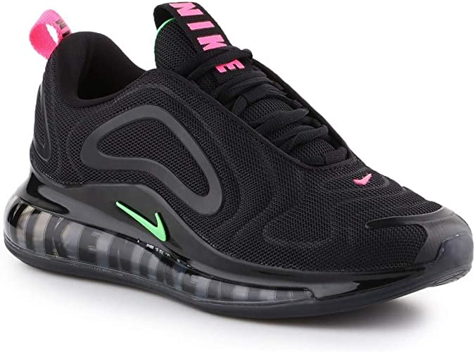 Competencia esta noche recursos humanos  Nike Air Max 720 Black Neon Black Black Size: 9.5 UK: Amazon.co.uk: Shoes &  Bags