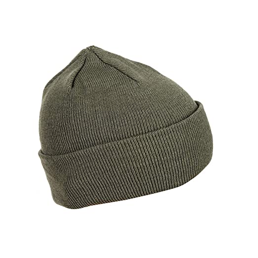 60a364b4eac Amazon.com  Mil-Tec Foliage Winter Watch Cap (1)  Clothing
