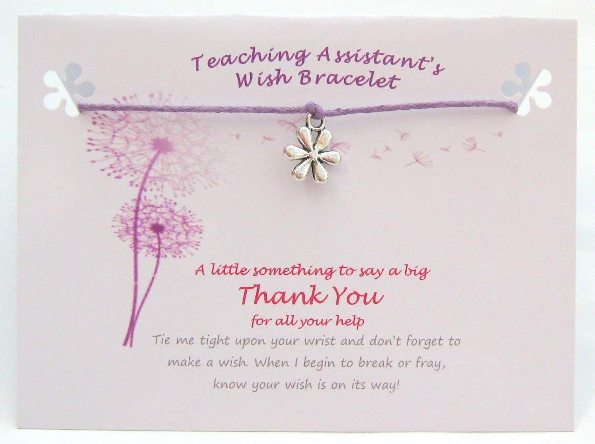 Teachers like You Are Precious And Few Charm Bracelet With Envelope Good Luck Pr