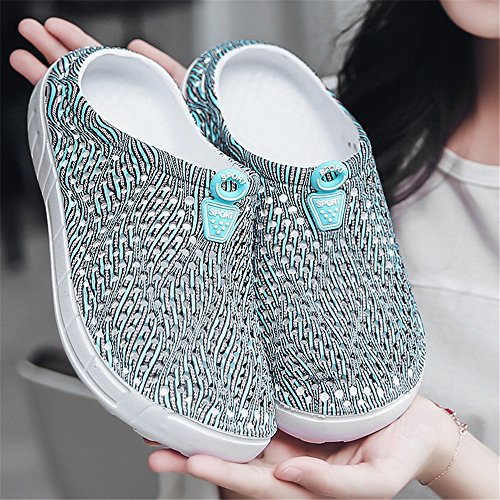 Breathable Slip Swimming AIRAVATA Water Women Shoes 0n Blue for 1619 Sneakers Summer Quick Athletic Hole Lightweight Beach Clogs Dry w4vq4WXH