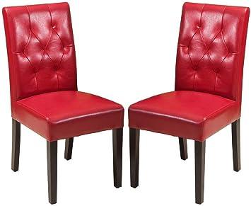 Amazon.com: Mejor Venta 2-Piece Sentry silla de comedor ...