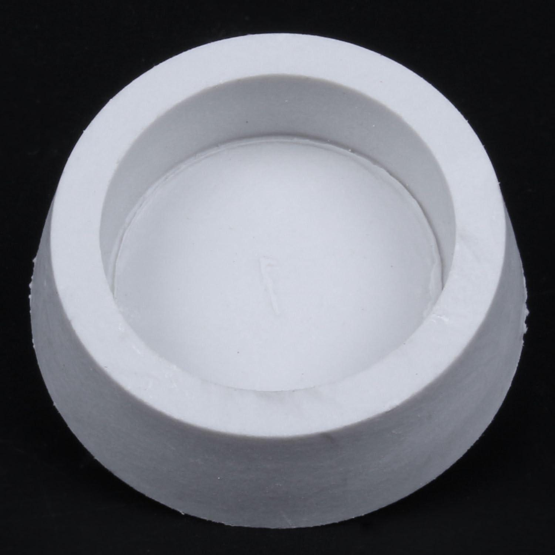 RETYLY Caucho Fregadero de la Banera Lavabo Colado Tapon del Enchufe Blanco Apagado