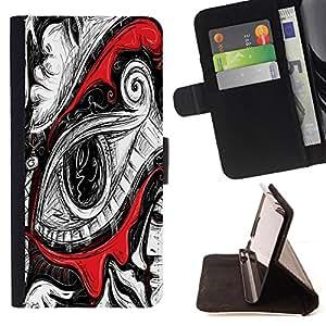 Dragon Case - FOR Samsung Galaxy A3 - ending is different - Caja de la carpeta del caso en folio de cuero del tir¨®n de la cubierta protectora Shell