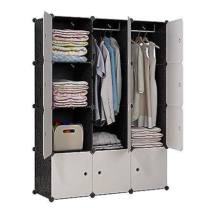 Amazon Com Kousi Portable Wardrobe Clothes Closet Storage Organizer