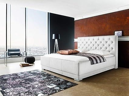 Cojín de cama somier-con funda de piel sintética en colour ...