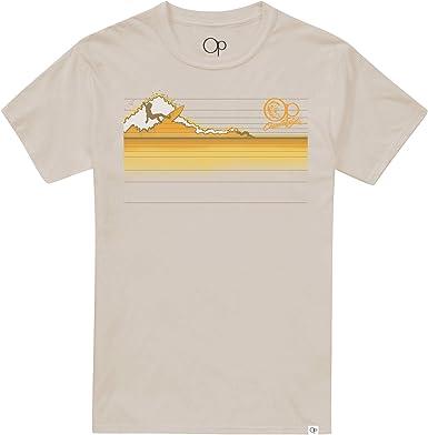 Ocean Pacific Surf Gradient Camiseta para Hombre: Amazon.es: Ropa y accesorios