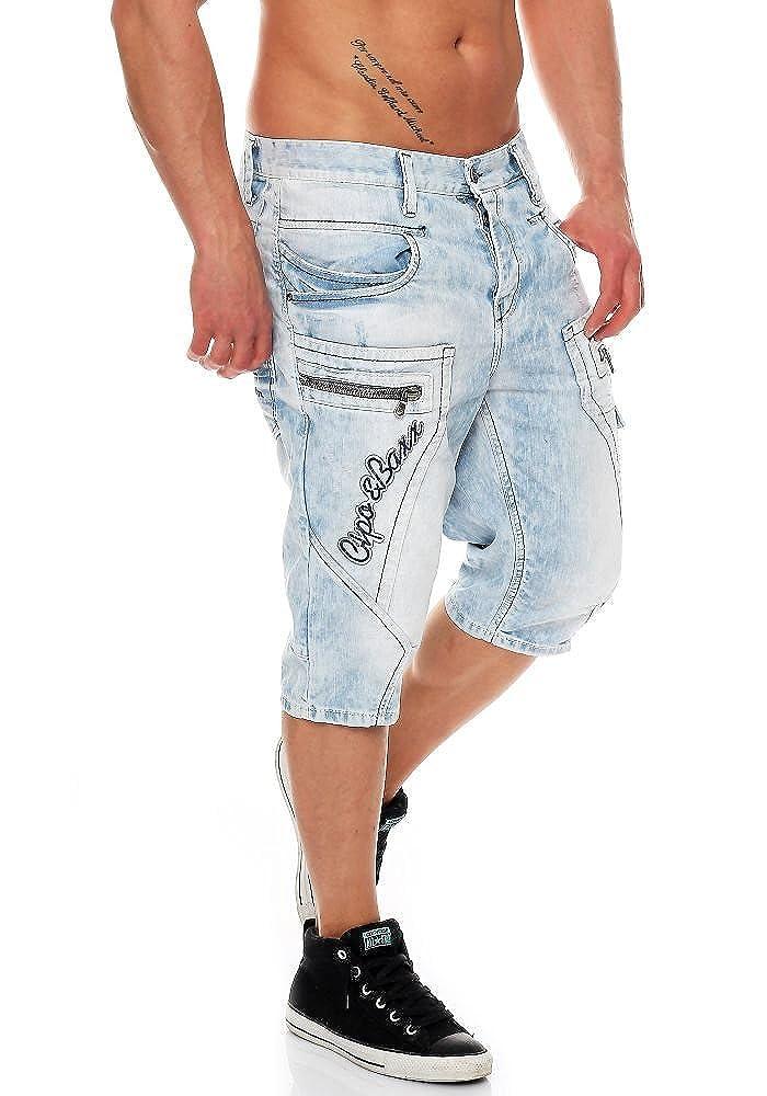 Cipo   Baxx Herren Jeans Shorts CK-131 Regular Destroyed  Amazon.de   Bekleidung 0f8e09a15a