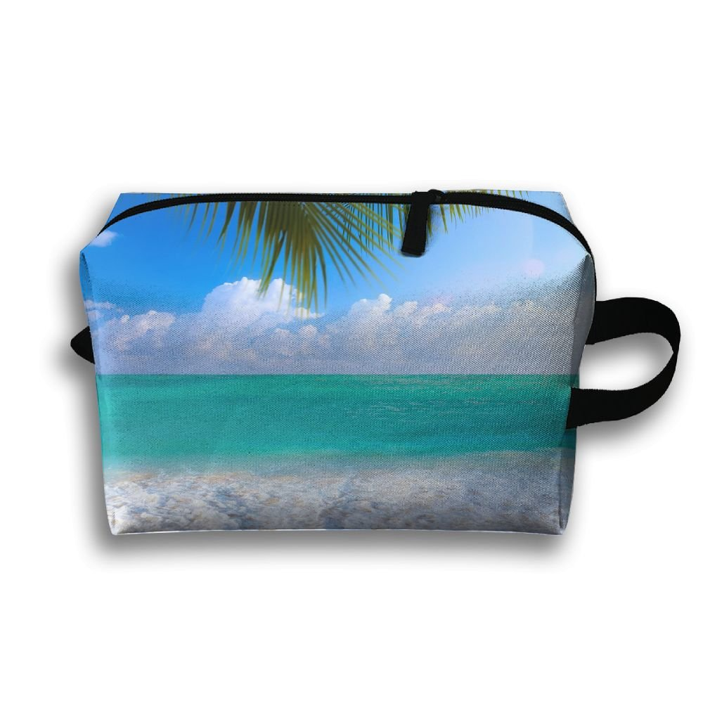 2a5c1abe877 outlet LEIJGS Beautiful Sea Summer Beach Small Travel Toiletry Bag Super  Light Toiletry Organizer For Overnight