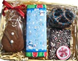 Gingerbread and Chocolate Happy Holidays Gift Basket