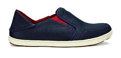 091fabc5d1c4 Amazon.com  OLUKAI Nohea Mesh Shoes - Men s Carbon Deep Red 16 ...