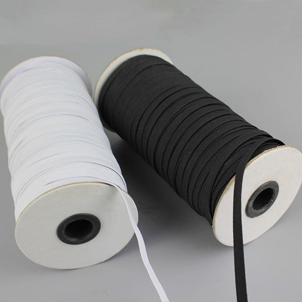 4/mm x 10/Meter STRONG Flat Elastic Bungee Seil Schock Cord Tie Down DIY Handmade Zubeh/ör schwarz