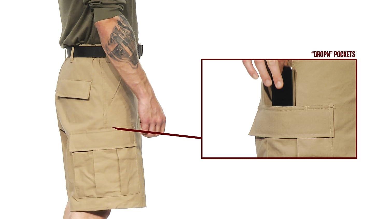 Tru-Spec pour Homme BDU Fermeture /Éclair Fly Short