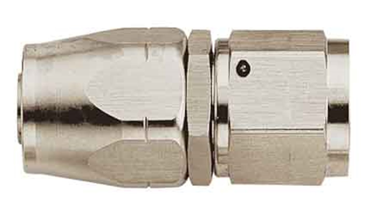 Aeroquip FCE1012 Nickel-Plated Aluminum -06AN Swivel Straight Fitting