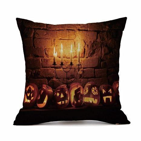 MAYOGO Fundas Cojines 45x45 Estampado Halloween Decorativos ...