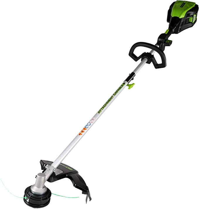 Amazon.com: Greenworks Pro 80V Cortadora de cuerdas ...