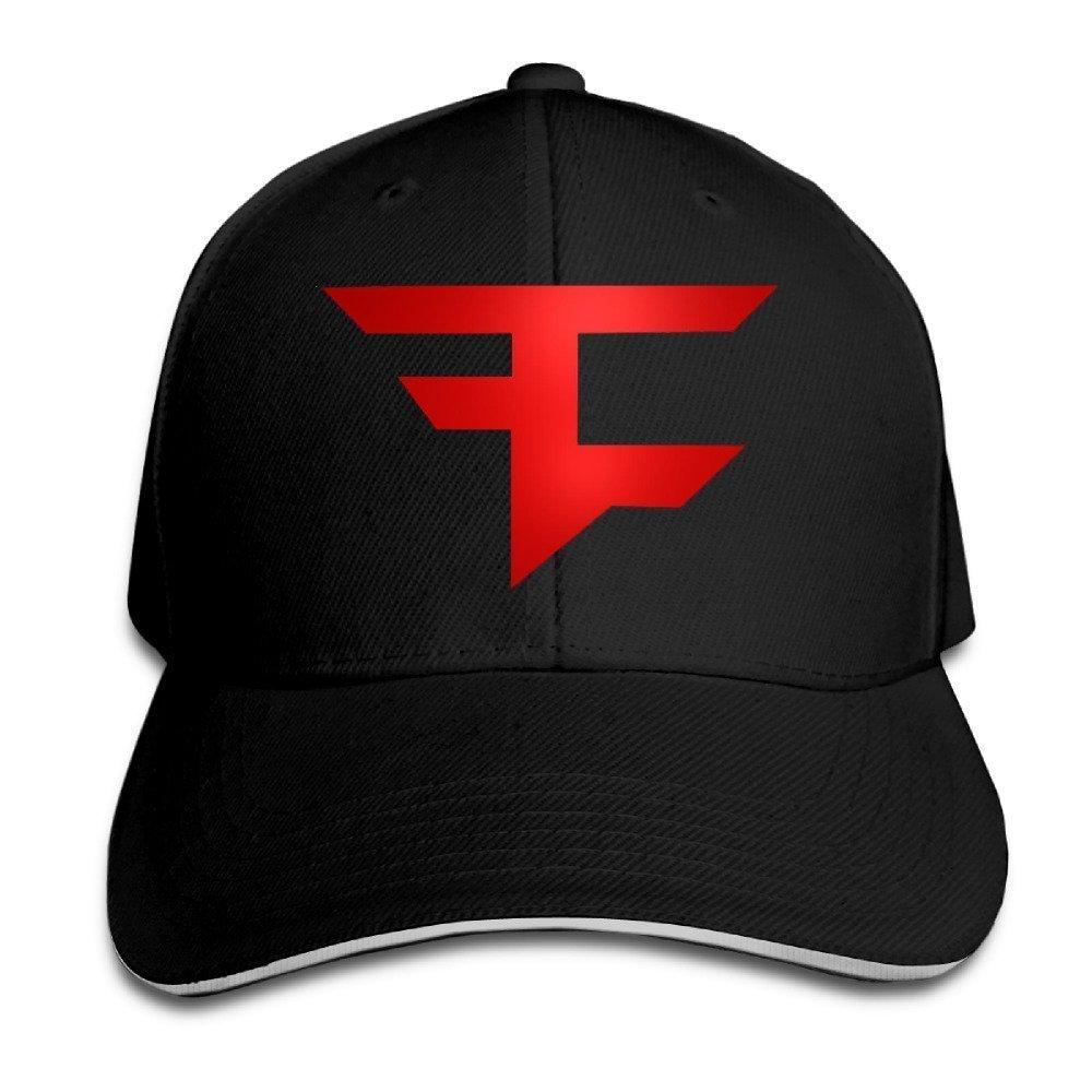 hittings Faze Clan Sandwich Peaked Hat//Cap Black