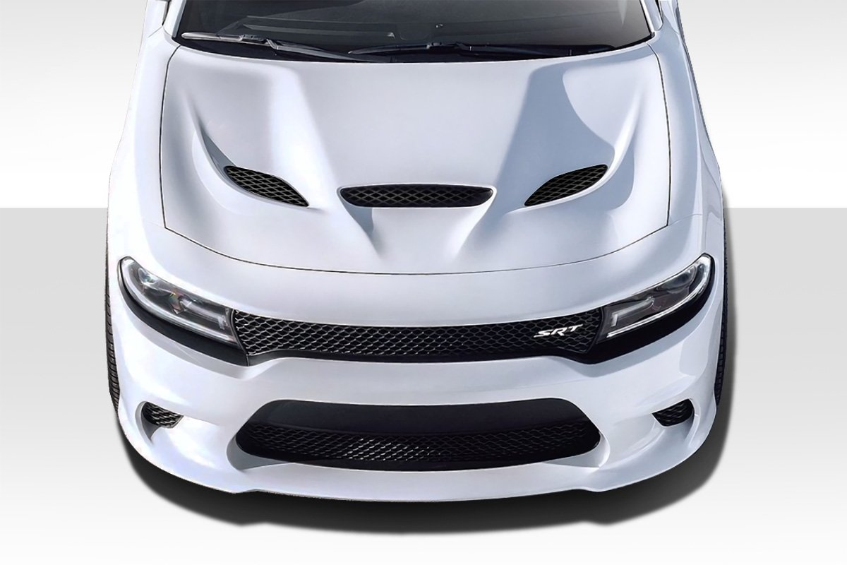 Duraflex ED-WGS-059 Hellcat Look Hood - 1 Piece Body Kit - Fits Dodge Charger 2015-2018