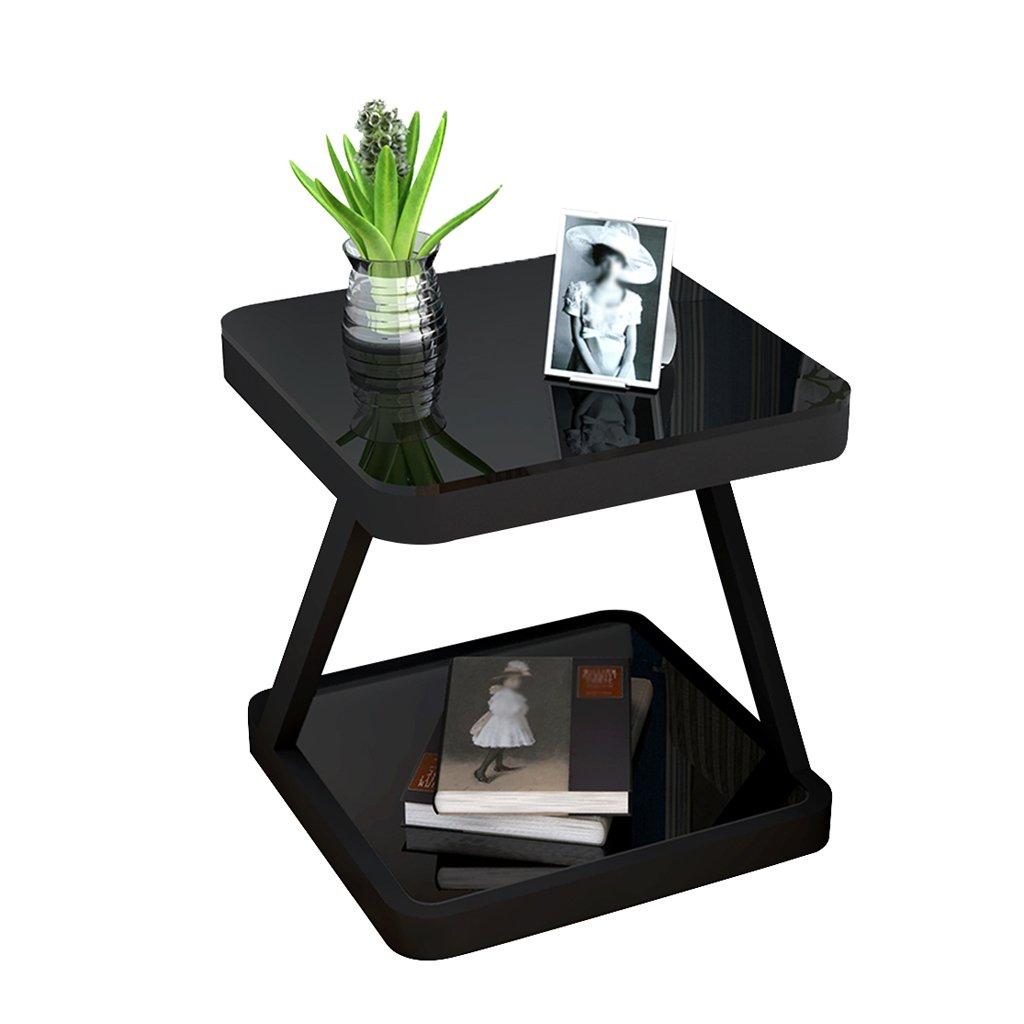 XJZxX シンプルなベッドサイドテーブル、シンプルでモダンなベッドルームアセンブリサイドテーブル、収納キャビネット、ミニパーソナルロッカー、ベッドサイドキャビネット - 約20インチ (色 : C) B07RKSJNNH C