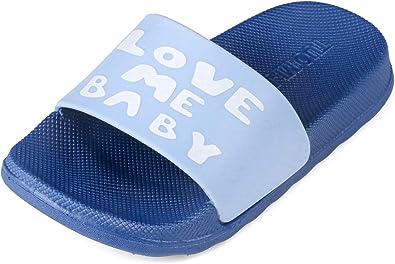 Lightweight and Comfort Toddler//Little Kids Summer Slippers Pool Beach Slides Sandals BENHERO Toddler Kids Boys Girls Classic Clogs- Slip On Garden Water Sandals