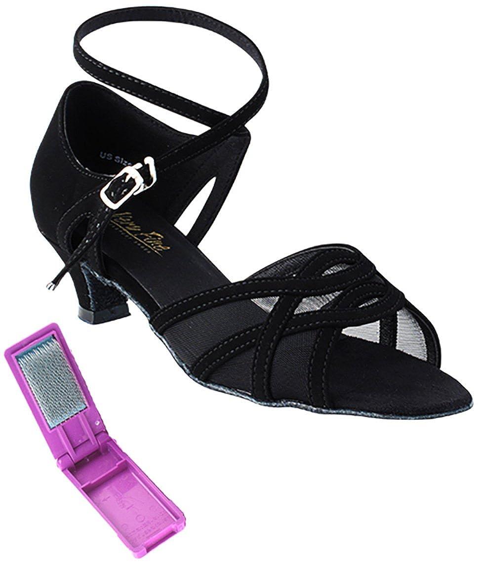 最高級のスーパー [Very Fine Mesh Dance Nubuck-black Shoes] レディース B075CXTP9Q Black B(M) Nubuck-black Mesh 5 B(M) US, UF(ウフ):d93182c5 --- a0267596.xsph.ru