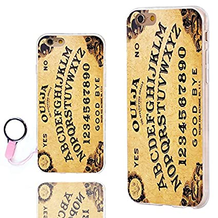 new style 461a8 f0b03 iPhone 6s Case Cute,iPhone 6 Case Cool, ChiChiC [Orignal Series] Slim  Flexible Soft TPU Rubber Cases Cover for iPhone 6 6s 4.7 Inch,Yellow Funny  Ouija ...