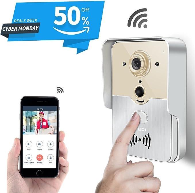Fredi - Intercomunicador de teléfono inteligente para el hogar con ...