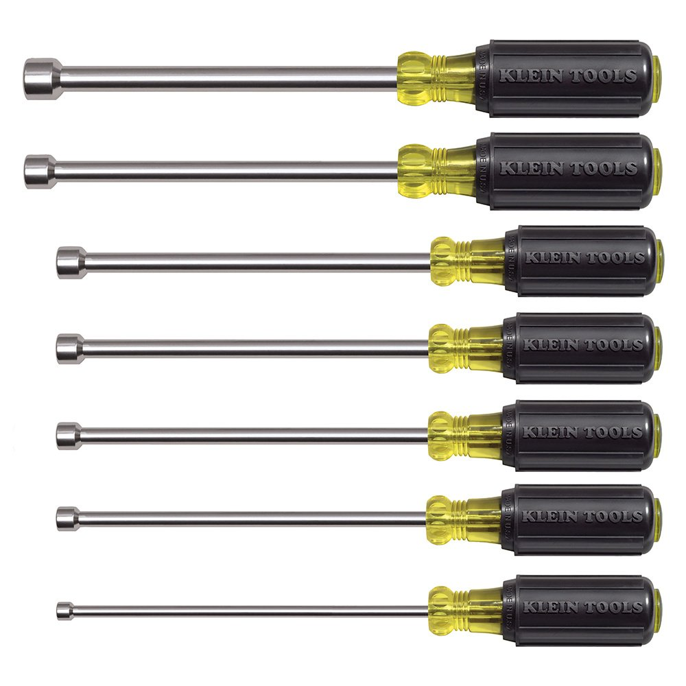 Klein Tools 647M Magnetic Nut Driver Set with 6-Inch Shafts (7-Piece) by Klein Tools (Image #3)
