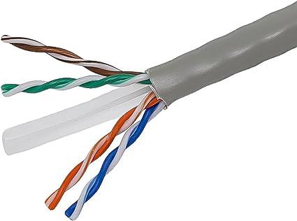 Purple Monoprice CAT 6 500MHz UTP 100FT Cable