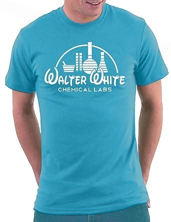 a3d9ed378 Million Nation Breaking Bad Walter White Labs T-shirt: Amazon.de: Bekleidung