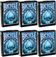 Bicycle Playing Cards 6 Decks ICE Design   Limited Edition Deck