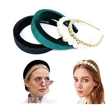 Ladies Pearl Hairband Headband Alice Band
