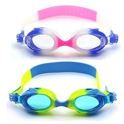 Amazon.com: Goaldeal - Gafas de natación para niños, 2 ...