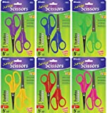5'' Blunt And Pointed Tip School Scissors - 2/Pack Case Pack 144