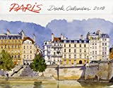 PARIS DESK CALENDAR 2018