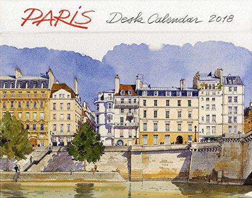 PARIS DESK CALENDAR 2018 by LES EDITIONS DU PACIFIQUE