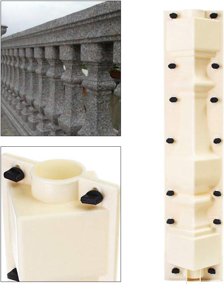 70cm Garden Roman Column Concrete Plaster Cement Casting Mould Balustrades