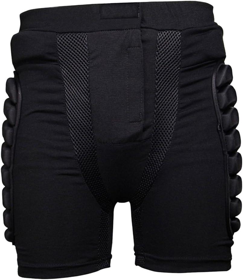 SDENSHI Pantalon de Ski Cyclisme Short de Protections pour Patinage Roller V/élo VTT Motos