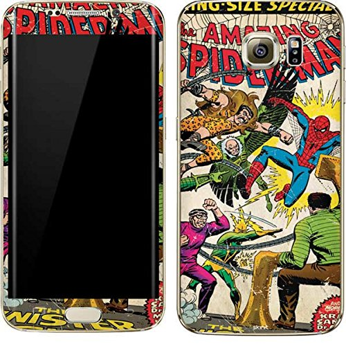 Marvel Comics Galaxy S7 Edge Skin - Spider-Man vs Sinister Six Vinyl Decal Skin For Your Galaxy S7 Edge