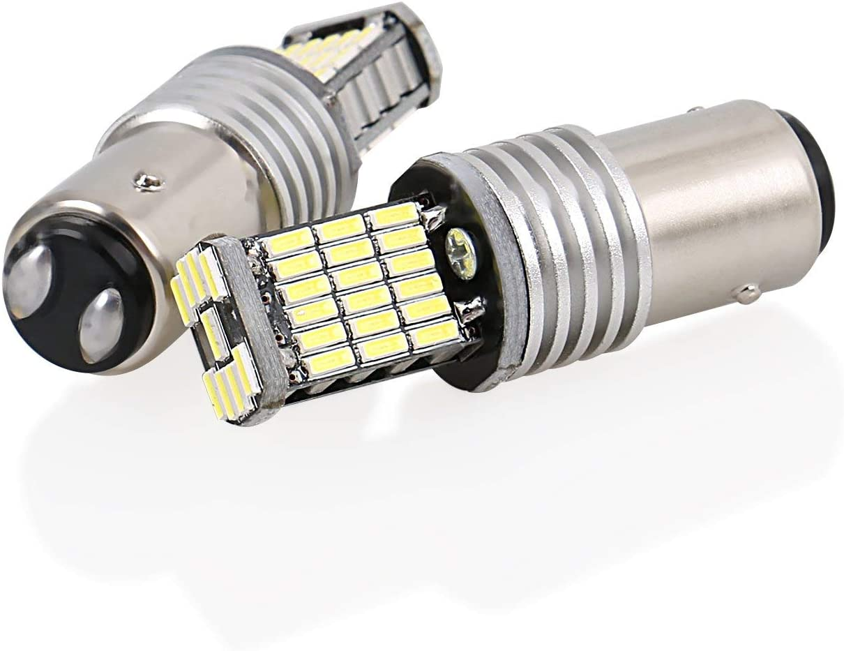 Bombillas LED para la Luz de Coche Blanco 6500K CICMOD 2 x 1000 Lumen Canbus Error Free 1157 BAY15D P21 45 /× 4014 SMD
