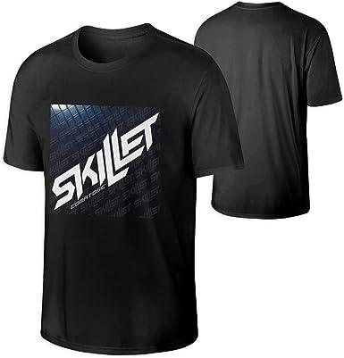 Pimkly Camisetas y Tops, Polos y Camisas, Skillet Band Mens Crew ...
