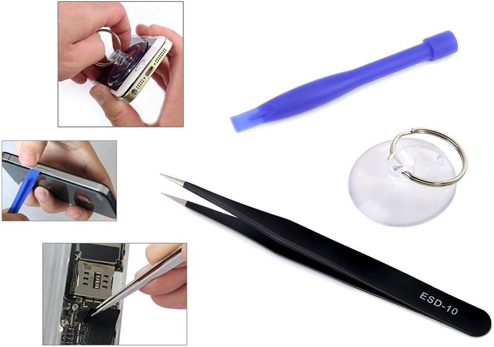 iPartsBuy Repair Tool Kit JF-8163 7 in 1 Battery Repair Tool Set for iPhone 8 Plus