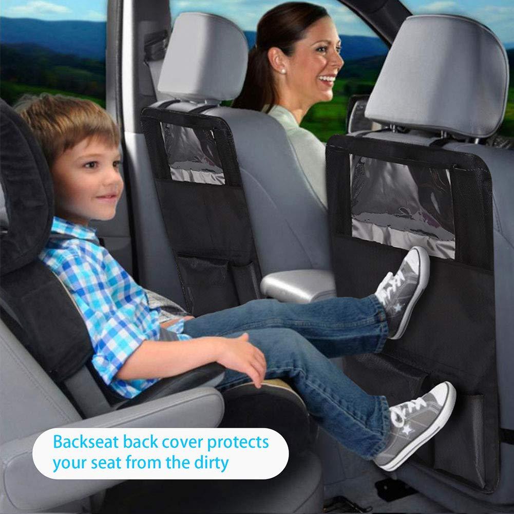 Homeit Organizer per Sedile Posteriore per Auto Protezione per Sedile Posteriore per Auto Organizer per Auto Accessori da Viaggio per Bambini