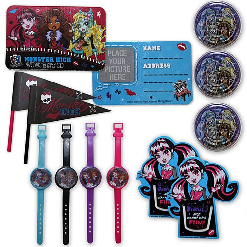 Monster High Favors Party Supplies | Party Favor | Pack of -