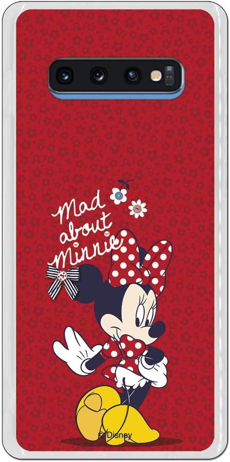 Carcasa Oficial Disney Minnie Mad About para Samsung Galaxy S10 ...