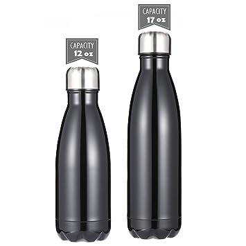 DKASA Botellas de Agua Acero Inoxidable con Aislamiento al ...