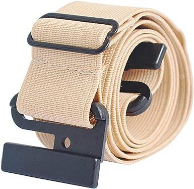 Gürtel geflochten elastisch Stoff Hosen Stretchgürtel Flechtgürtel Golfgürtel