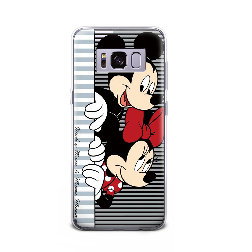 GSPSTORE Galaxy S8 Plus Case Disney Cartoon Mickey Minnie Mouse Hard Plastic Protection Cover For Samsung Galaxy S8 Plus #2