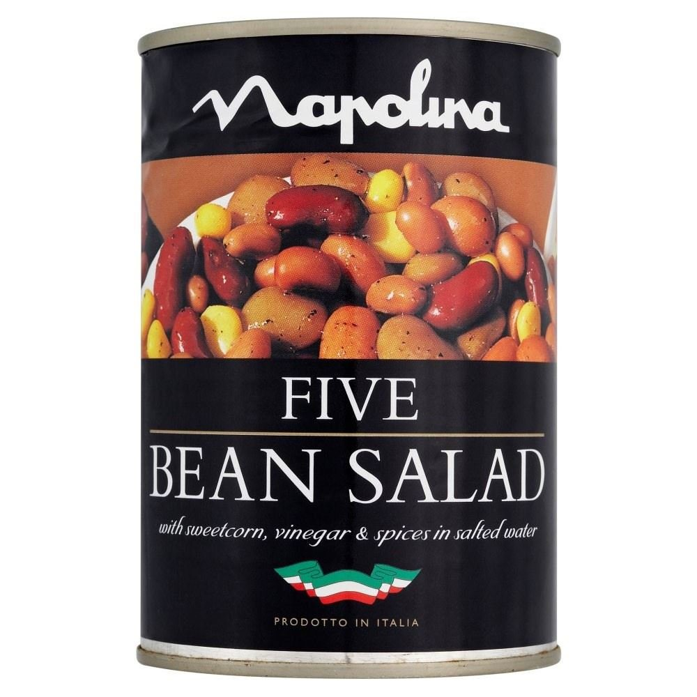 Napolina Five Bean Salad (400g) - Pack of 6 by Napolina