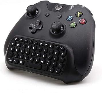Teclado Xbox One, teclado inalámbrico Prodico con teclado de juego y teclado de 2,4 G para mando Xbox One