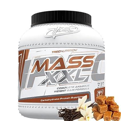 Trec Nutrition MASS XXL, ganador de masa de proteínas, carbohidratos, aminoácidos, vitaminas
